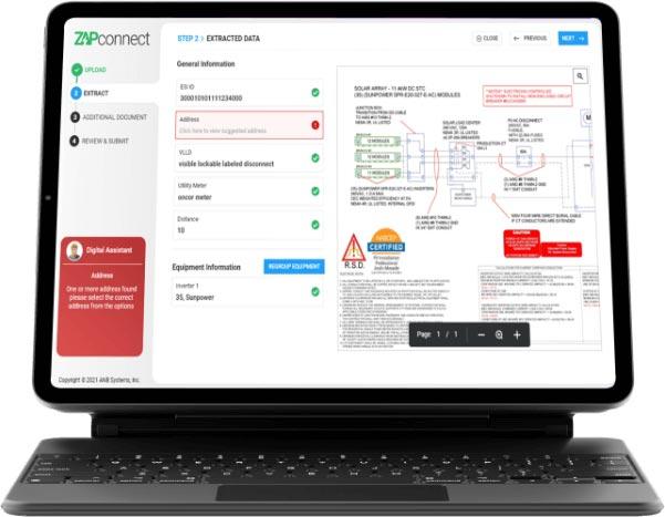 ZAPconnect Dashboard - Data Extraction